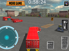 Screenshot of 18 Wheels Truck Driver 3D