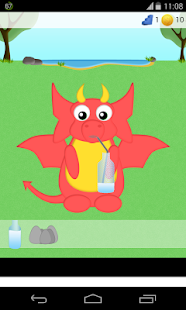 dragon care games - screenshot