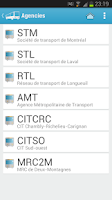 Screenshot of Transit Montreal Pro