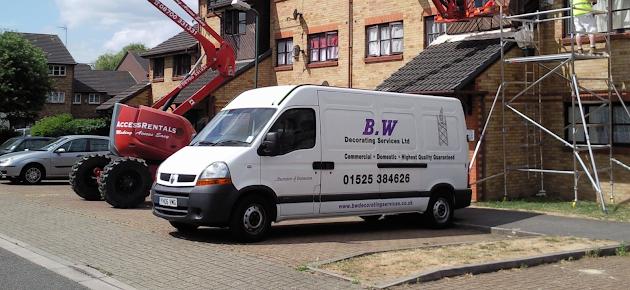 B.W Decorating Vehicle