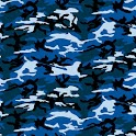 Blue Camo Keyboard Skin icon