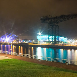 SECC at Night by Dave Dodge - Novices Only Landscapes (  )