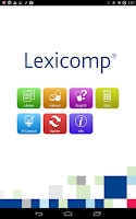 Screenshot of Lexicomp