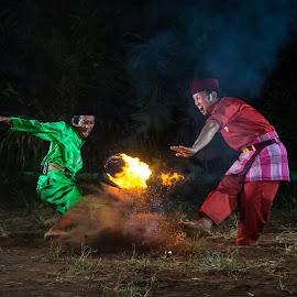 Traditional martial arts by Wisnu Widayat - People Street & Candids