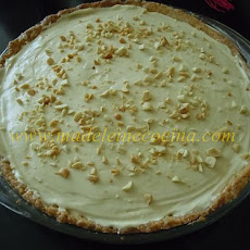 Banana Pie with Peanut Whipped Cream