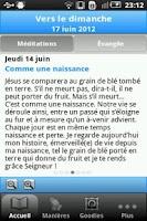 Screenshot of Vers Dimanche