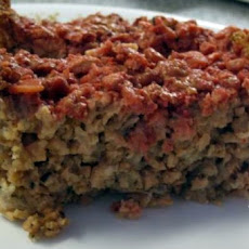Microwave Rice Krispie Meatloaf