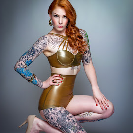 Leanne by Terry Mendoza - People Body Art/Tattoos