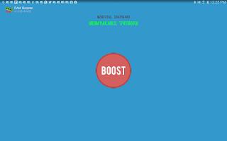 Screenshot of RAM Booster