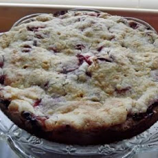 Camille's Fresh Strawberry Coffee Cake