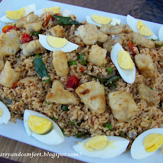 Kedegree- Rice Pilaf with Cod