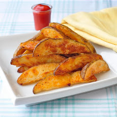 Unfried Crispy Wedge Fries