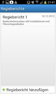 bau.io Regiebericht - screenshot