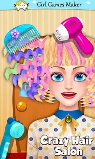 Fashion Hair Salon Style & Cut - screenshot