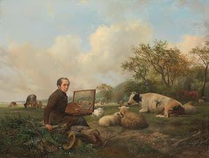 RIJKS: Hendrikus van de Sande Bakhuyzen: painting 1850