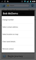 Screenshot of Nearly There SMS Free