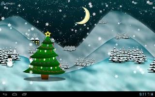 Screenshot of Christmas Tree Live Wallpaper★