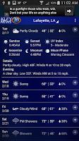 Screenshot of KLFY Wx Tracker