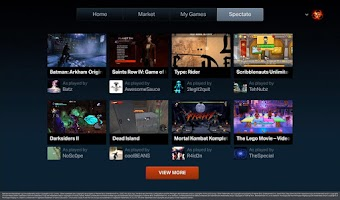 Screenshot of OnLive