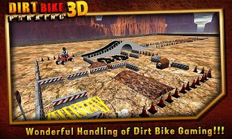 Screenshot of Dirt Bike Parking 3D ★Fun 2014