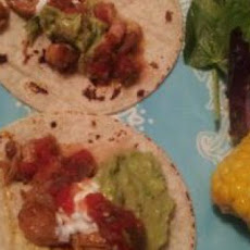 Allie's Spicy Chicken Tacos