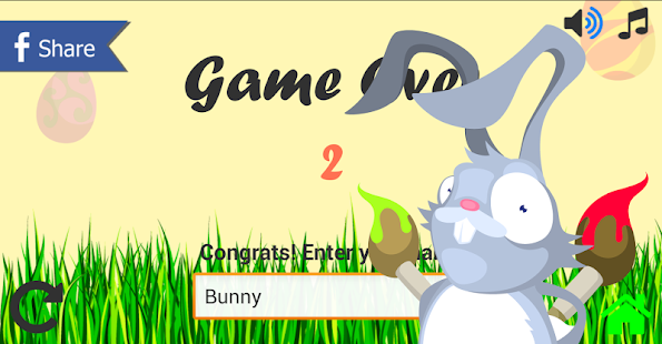 Easter Bunny - The game - screenshot