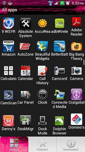 玩個人化App Pink Energy Sense 3.6 Skin免費 APP試玩