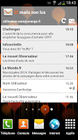 Screenshot of Mail Orange