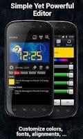 Screenshot of Make Your Clock Widget