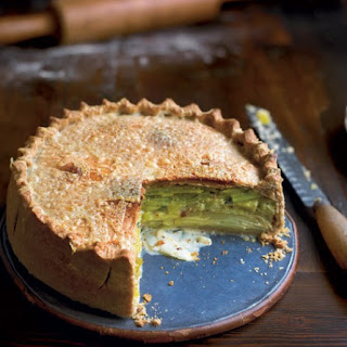 Leek And Potato Pie Vegetarian Recipes
