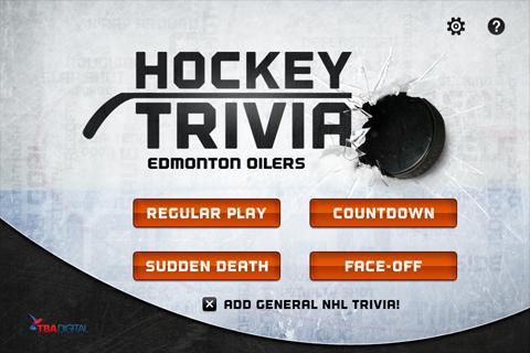 Hockey Trivia-Oilers