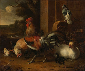RIJKS: Melchior d' Hondecoeter: painting 1665