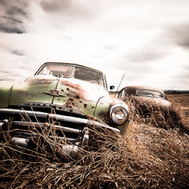 Abandoned by Doug Barrett - Transportation Automobiles