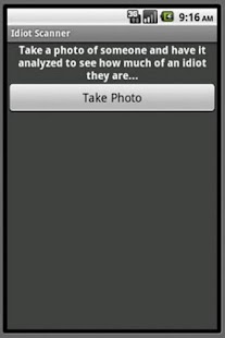 Idiot  Scanner - screenshot