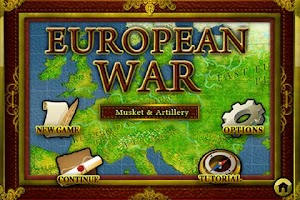 Screenshot of European War