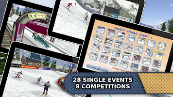 Screenshot of Athletics: Winter Sports Free
