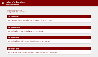 Screenshot of Smorfia Napoletana Gratis