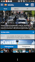 Screenshot of Noticieros Televisa