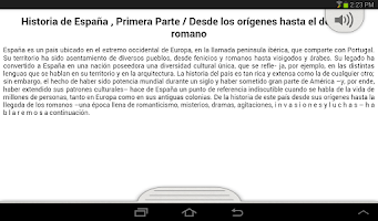 Screenshot of Historia de España