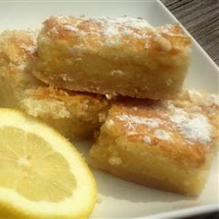 Lemon Bars Egg Whites Recipes