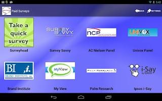 Screenshot of Survey-n-More - Paid Surveys