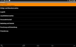 Screenshot of BWL Kennzahlen Free