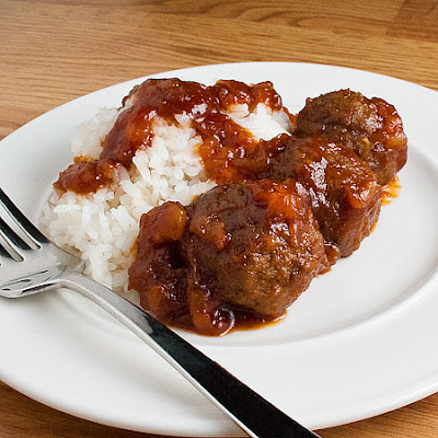 Pineapple-Glazed Meatballs