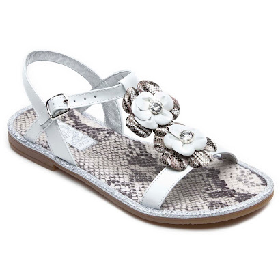 Step2wo Serpent - Snake print Sandal SHOE