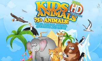Screenshot of Kids Learn about  Animals