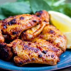 Sticky Portuguese Paleo Chicken Wings