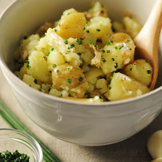 Olive Oil Smashed Potatoes