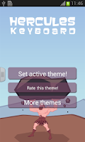 Screenshot of Hercules Keyboard