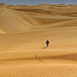 Lonely Deserts by Crispin Lee - Landscapes Deserts
