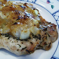 Roast Pork With Onion Stuffing